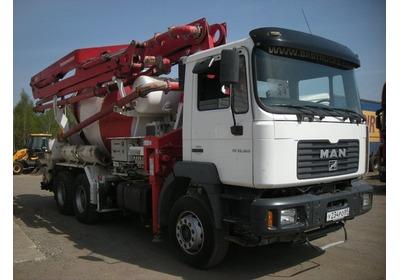 Бетононасос 2в1 в аренду, Услуги насоса с миксером в Минске и области