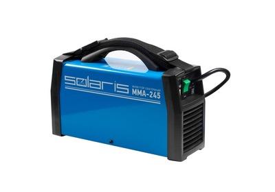 Сварочный инвертор Solaris MMA-245 напрокат в Полоцке