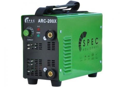 Напрокат сварочный инвертор Spec ARC-200X (в аренду)