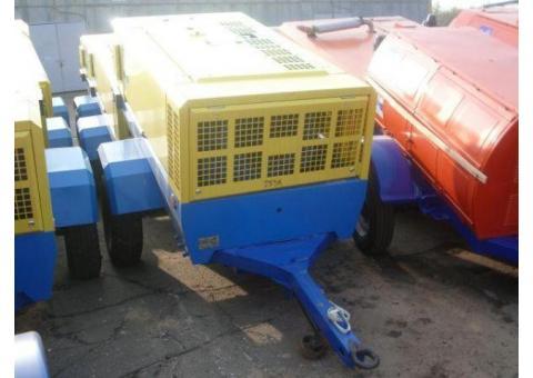 Дизельный компрессор ПКСД-5,25 в аренду (прокат) в Минске